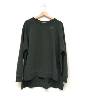 EUC Nike Woman's Green Long Sleeve Sweatshirt M